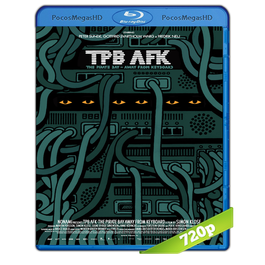 TPB AFK: The Pirate Bay Away from Keyboard(2013) BrRip 720p Inglés AC3+subs