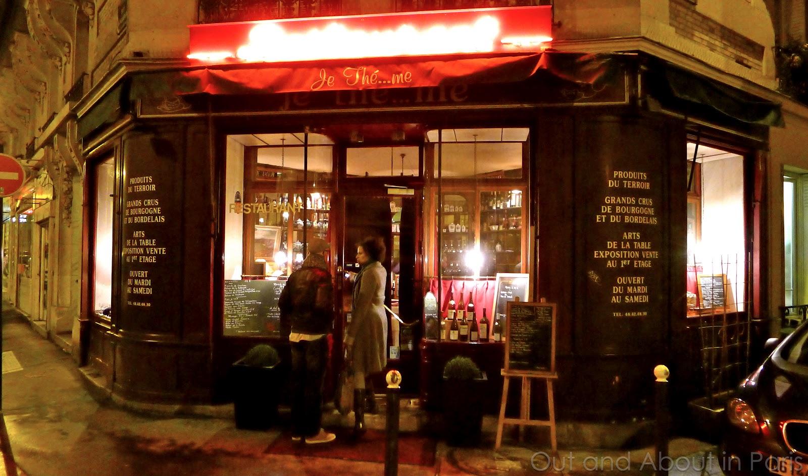 Je thé...me - a romantic restaurant off the beaten-track