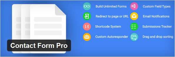 Contact Form Pro extension for WordPress