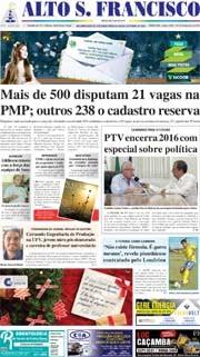 Jornal Alto São Francisco