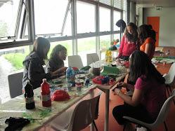 laboratorio crativo con adolescenti