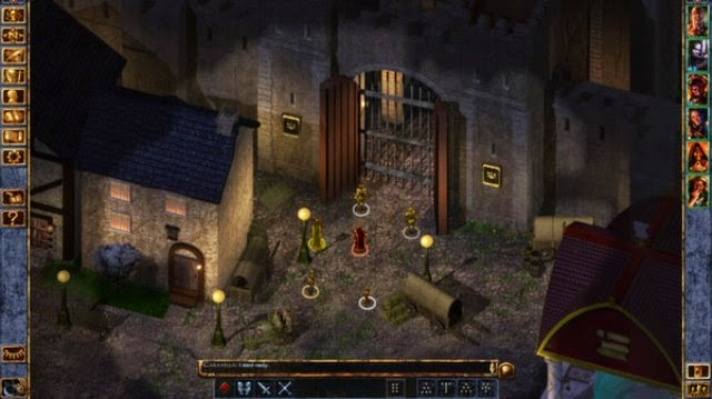 Baldur's Gate 1 PC Games Gameplay