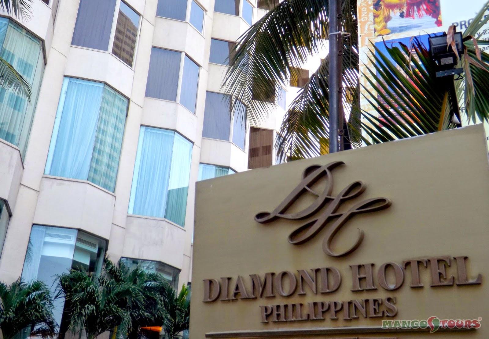 Mango Tours Diamond Hotel Philippines