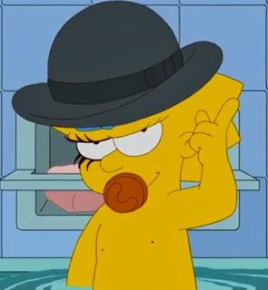 Maggie Simpson Clockwork Orange