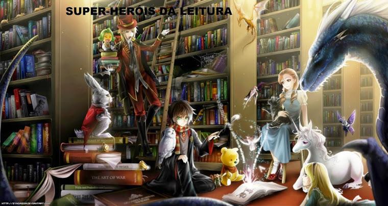 Super-Heróis da Leitura