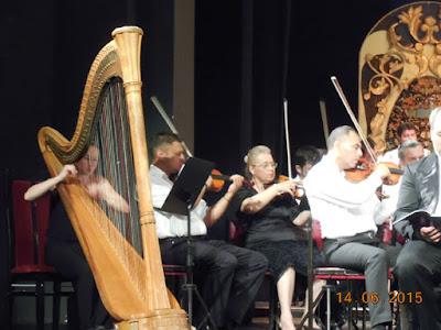 Harpa si ciupituri de coarda