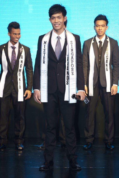Mister Singapore International 2012 Ron Teh