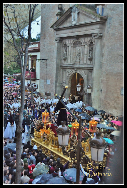 Señor de La Salud Los Gitanos en La Anunciación Semana Santa 2013