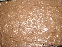 Añadiendo la última capa de chocolate