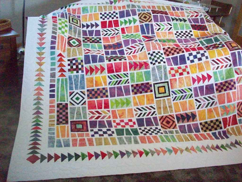 Quilts by Barb - News from Barb: Linda s Quodlibet Quilt