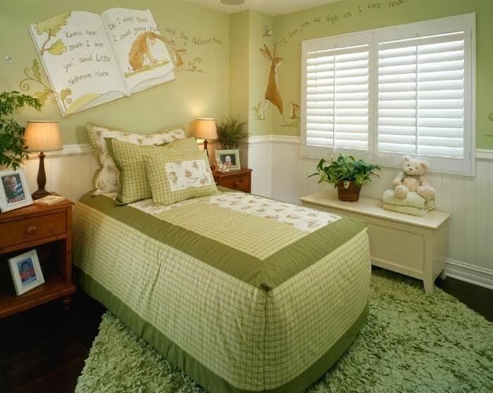 desain kamar cantik untuk si buah hati anda