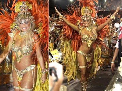 Fotos musas do Carnaval 2011 - São Paulo - 1° noite - Ellen Roche