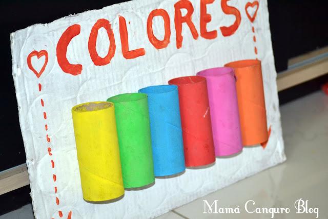 Diy aprender colores jugando