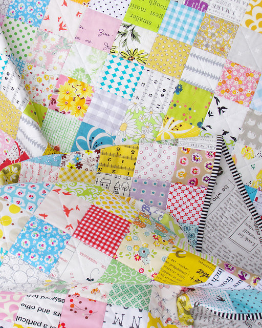 For the Love of Patchwork - A Finished Quilt | Red Pepper Quilts