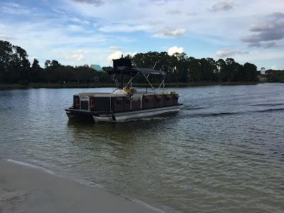 Boat ride at Barefoot Bay