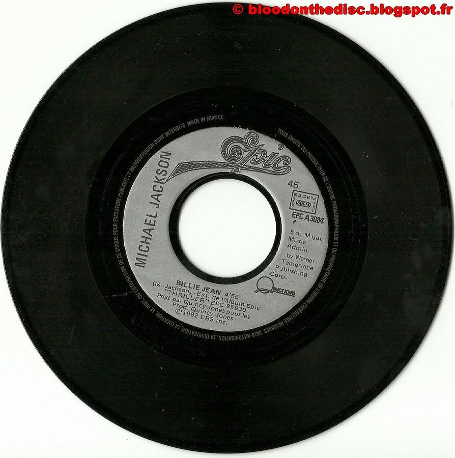 Billie Jean 45T Side 1