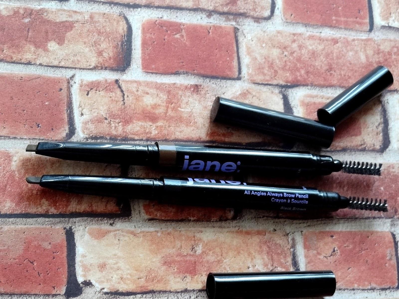 JaneCosmetics All Angles Always Brow Pencils