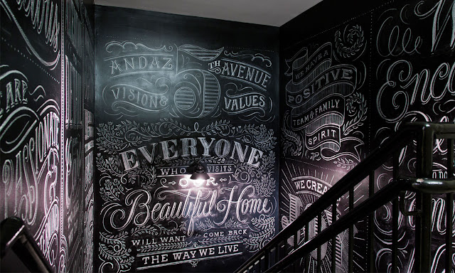 Wall art by Tanamachi (via Nest of Pearls)
