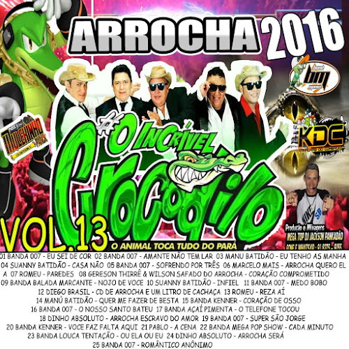 CD CROCODILO ARROCHA VOLUME 13