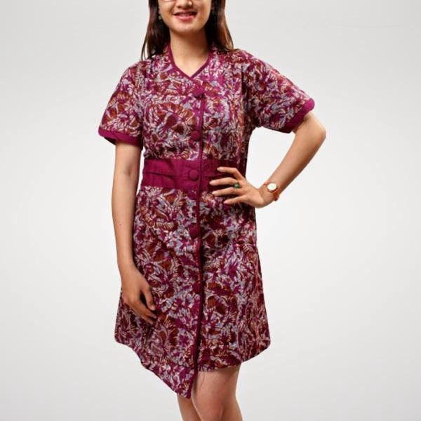model-dress-batik-modern-3