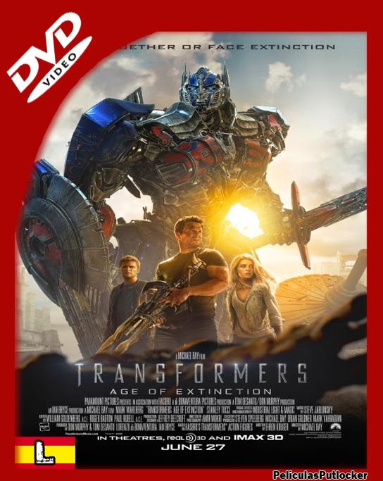 Transformers 4 [DVDRip][Latino][FD-SD-MG]