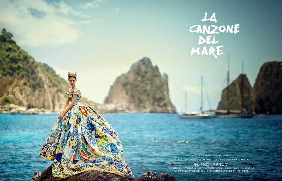 'La Canzone Del Mare' by Boo George for Vogue Japan October 2014 fashion photography (5)