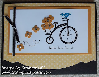 Card made with Stampin'UP!'s 2012-2013 Ronald McDonald House set: Moving Forward