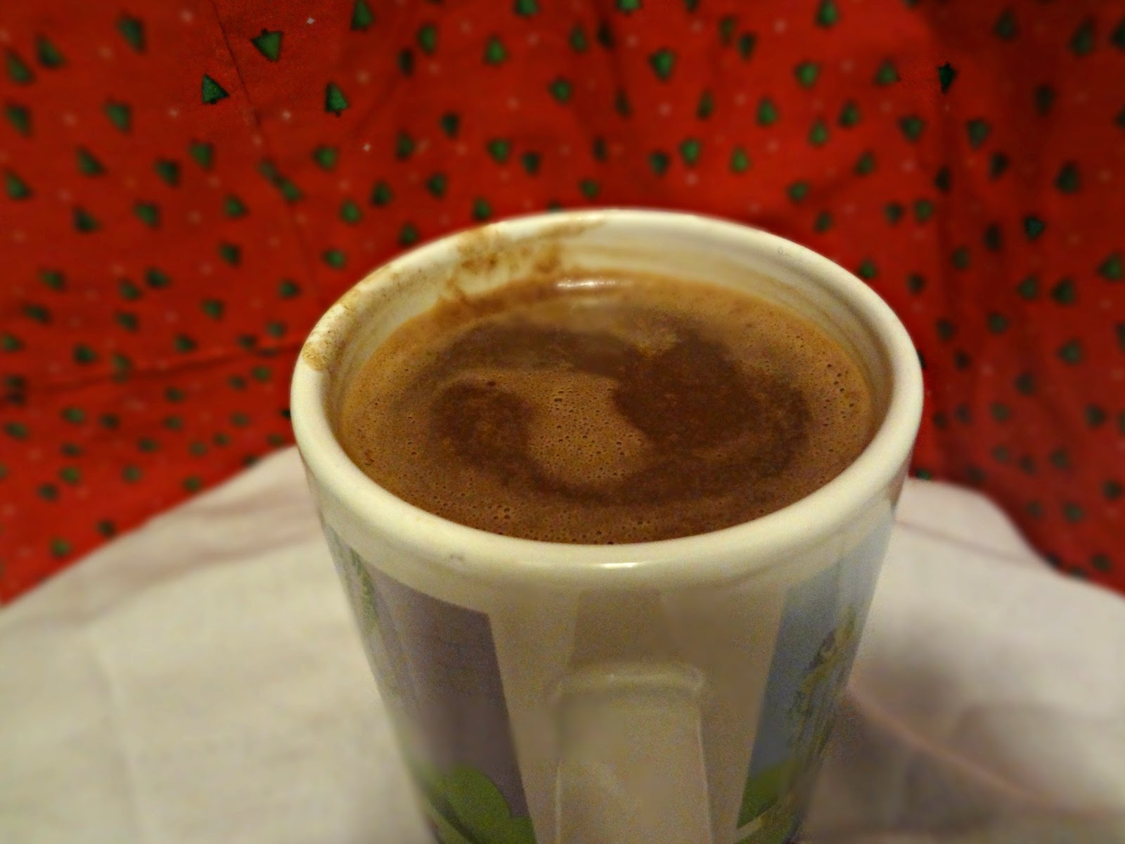 The Cooking Actress: Creamy Hot Chocolate