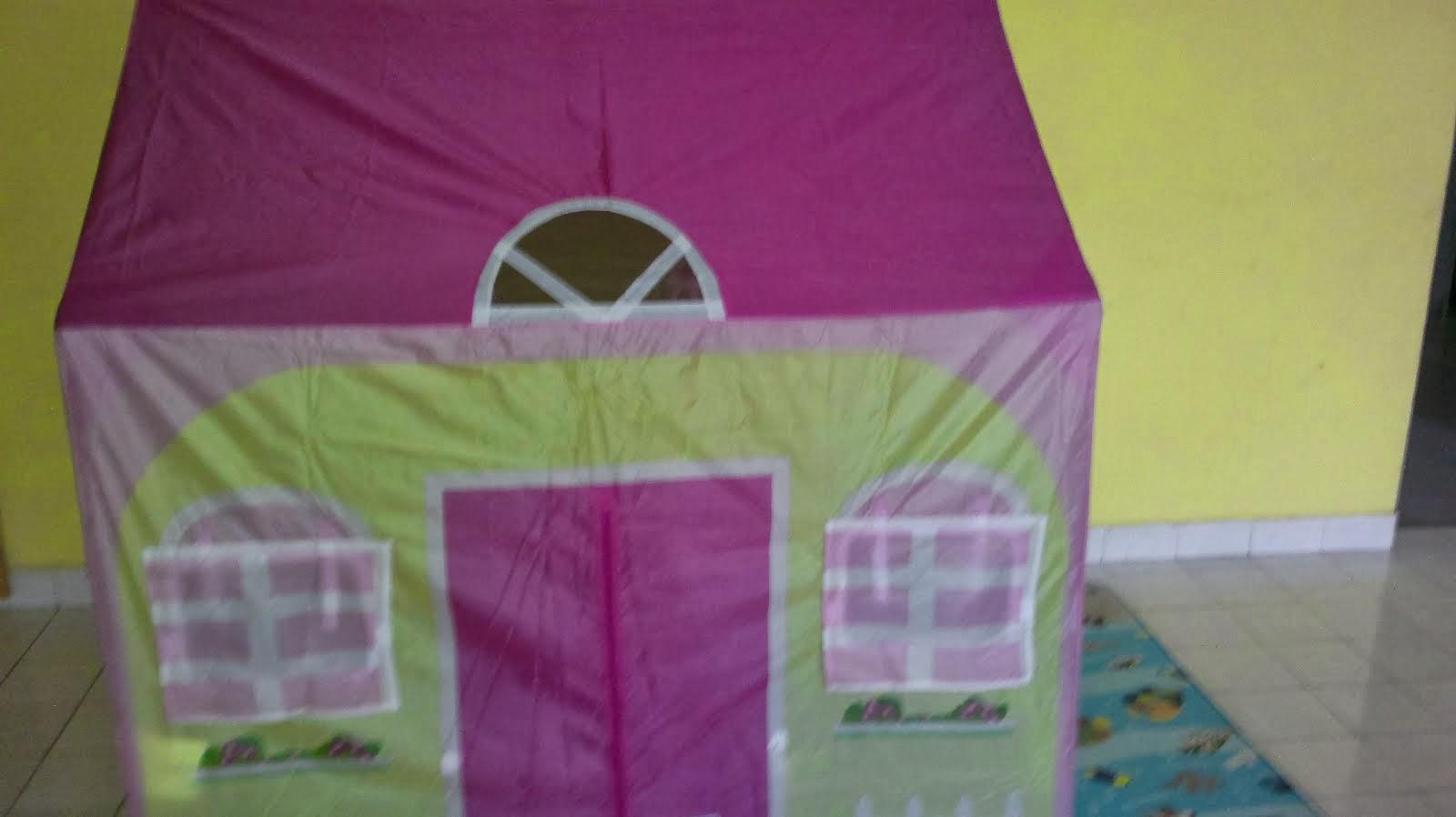 Khemah yang siap dipasang