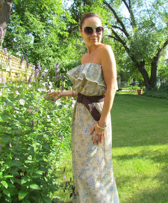 Simple Sewing project, DIY Summer Dress, Victoria's Secret Dress, Tube Dress, Summer Dress, DIY Dress