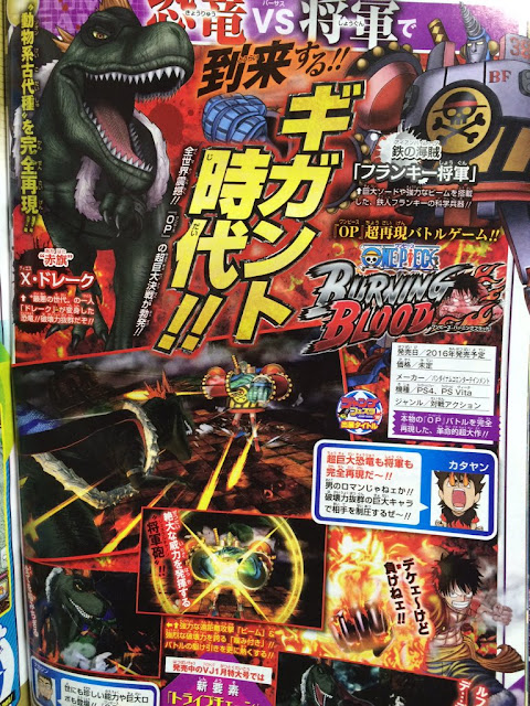 One Piece : Burning Blood, X Drake, Franky, Bandai Namco Games, Jeux Vidéo, Actu Jeux Vidéo,