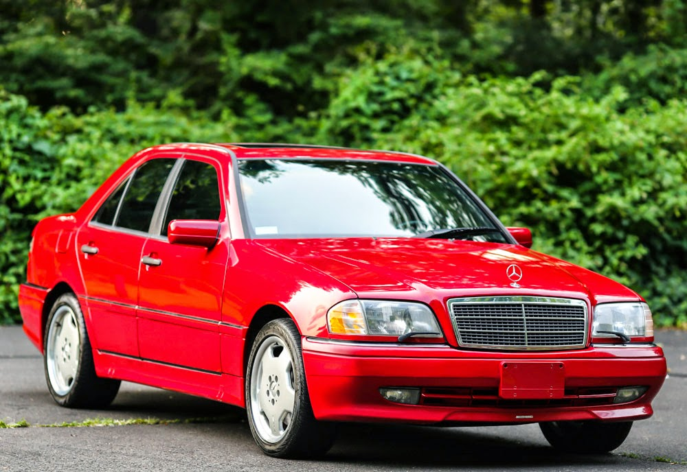1996 mercedes benz w202 c36 amg red benztuning for Mercedes benz red