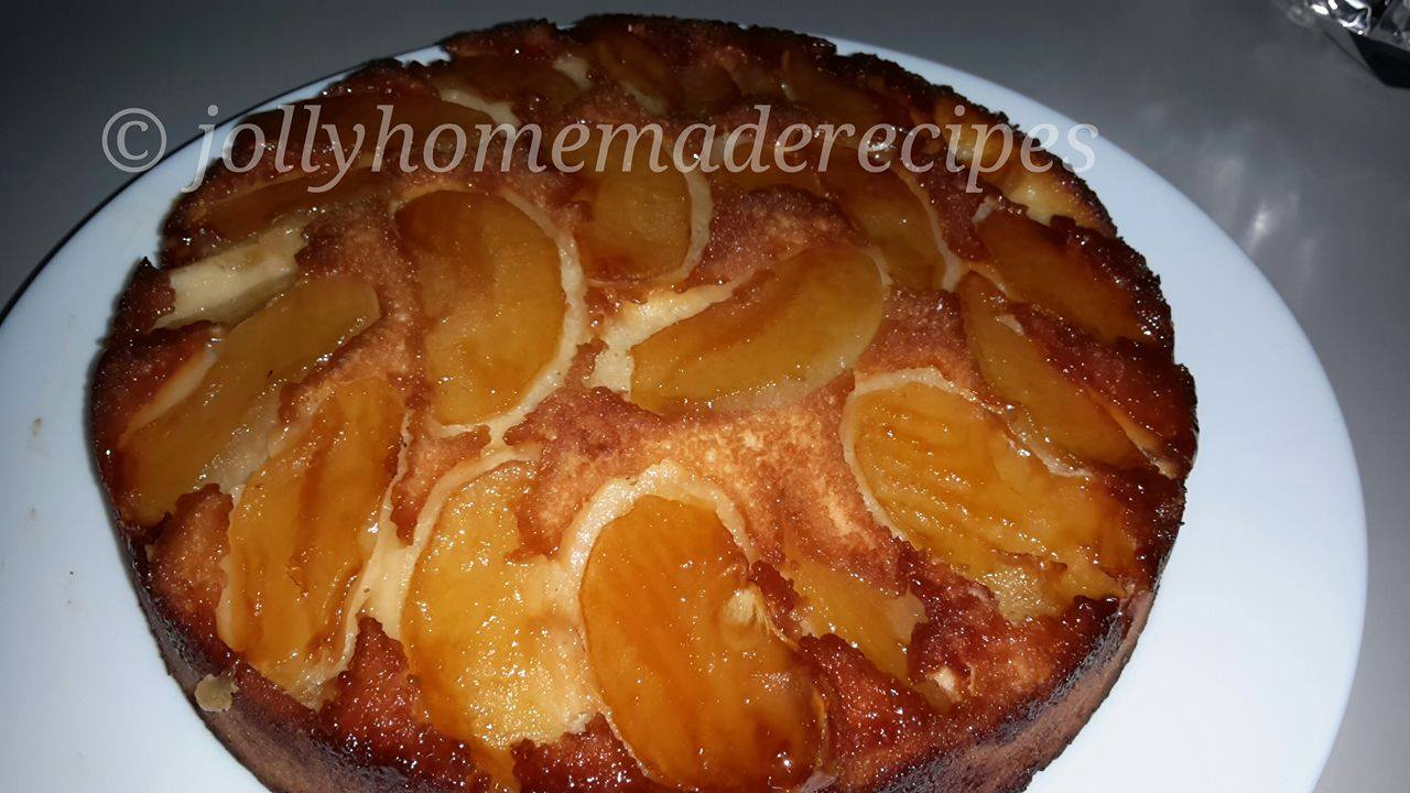 Apple-Cinnamon Upside-Down Cake | Apple Upside-Down Cake Recipe ...