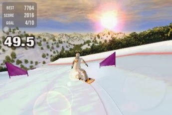 Crazy Snowboard  Full Android Apk İndir