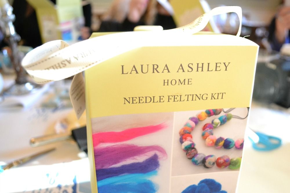 laura ashley needle felting kit christmas gift