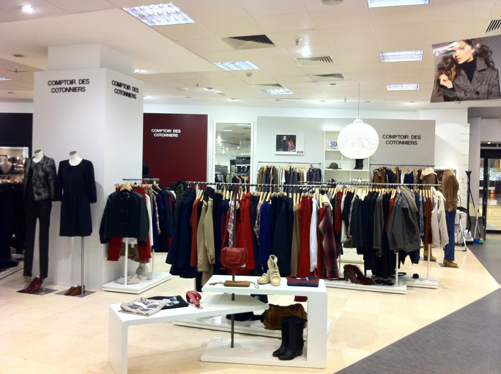 We love shops las nueva marcas de moda juntas en el centro comercial de la illa en barcelona - Boutiques comptoir des cotonniers ...