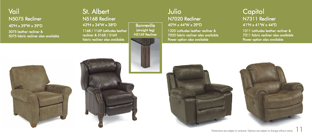 Woodchuck 39 S Furniture Flexsteel Leather Recliner Sale January 2014