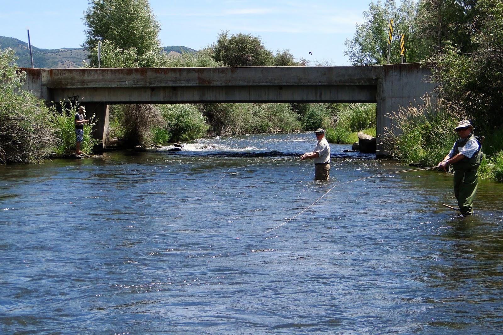 Fly fishing the utah weber river for Weber river fishing