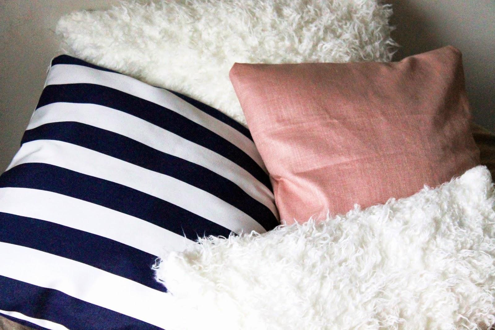 New DIY pillowcases   Alinan kotona blog #pillow #home #decor #DIY