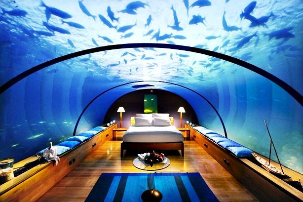 Viajero turismo 5 de los hoteles m s curiosos del mundo for Hotel bajo el agua precio