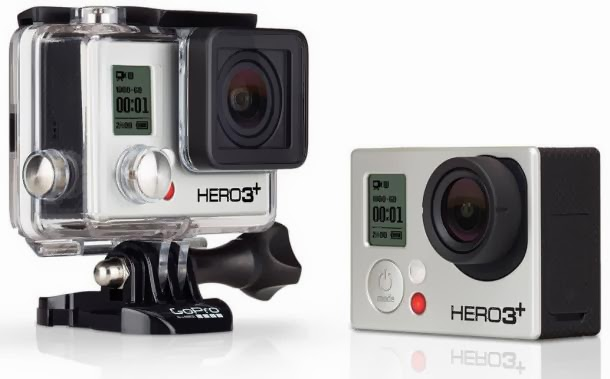 gopro hero3+ plus silver edition