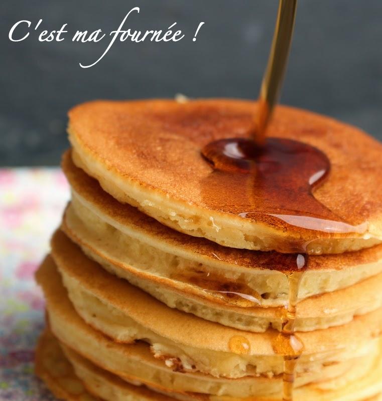 Les pancakes de Martha Stewart