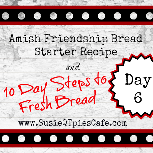 how to make amish cinnamon friendship bread starter