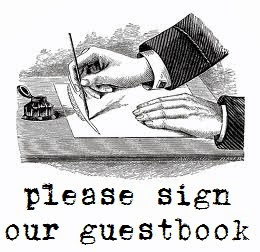 Guestbook ~ please sign