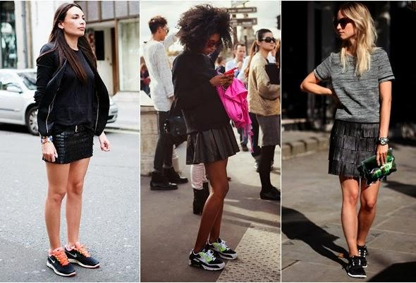 Tênis fashion da academia para as ruas