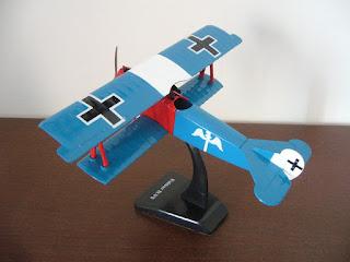 maquetismo de aviones de la primera guerra mundial