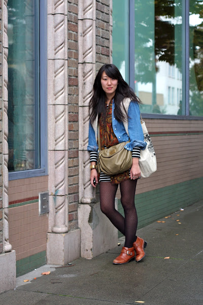 Seattle Street Style Layers