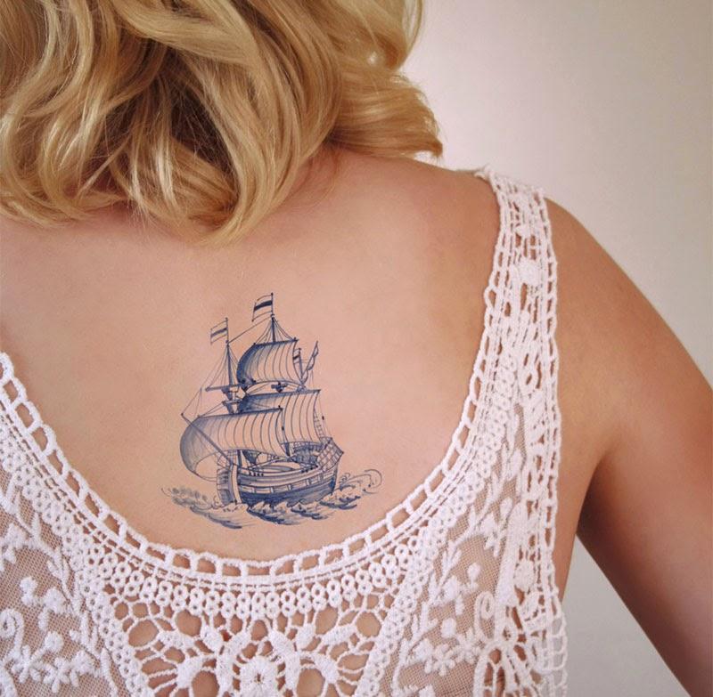 victorianos tatuajes temporales Tattoorary