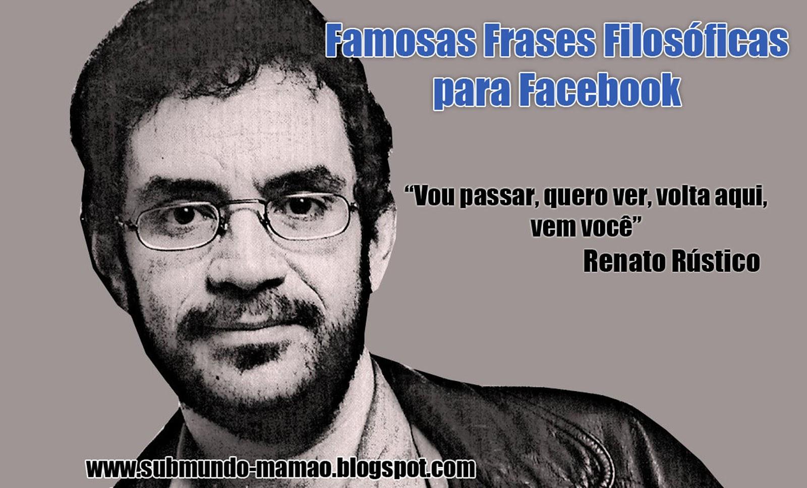 Frases De Renato Russo Para Facebook