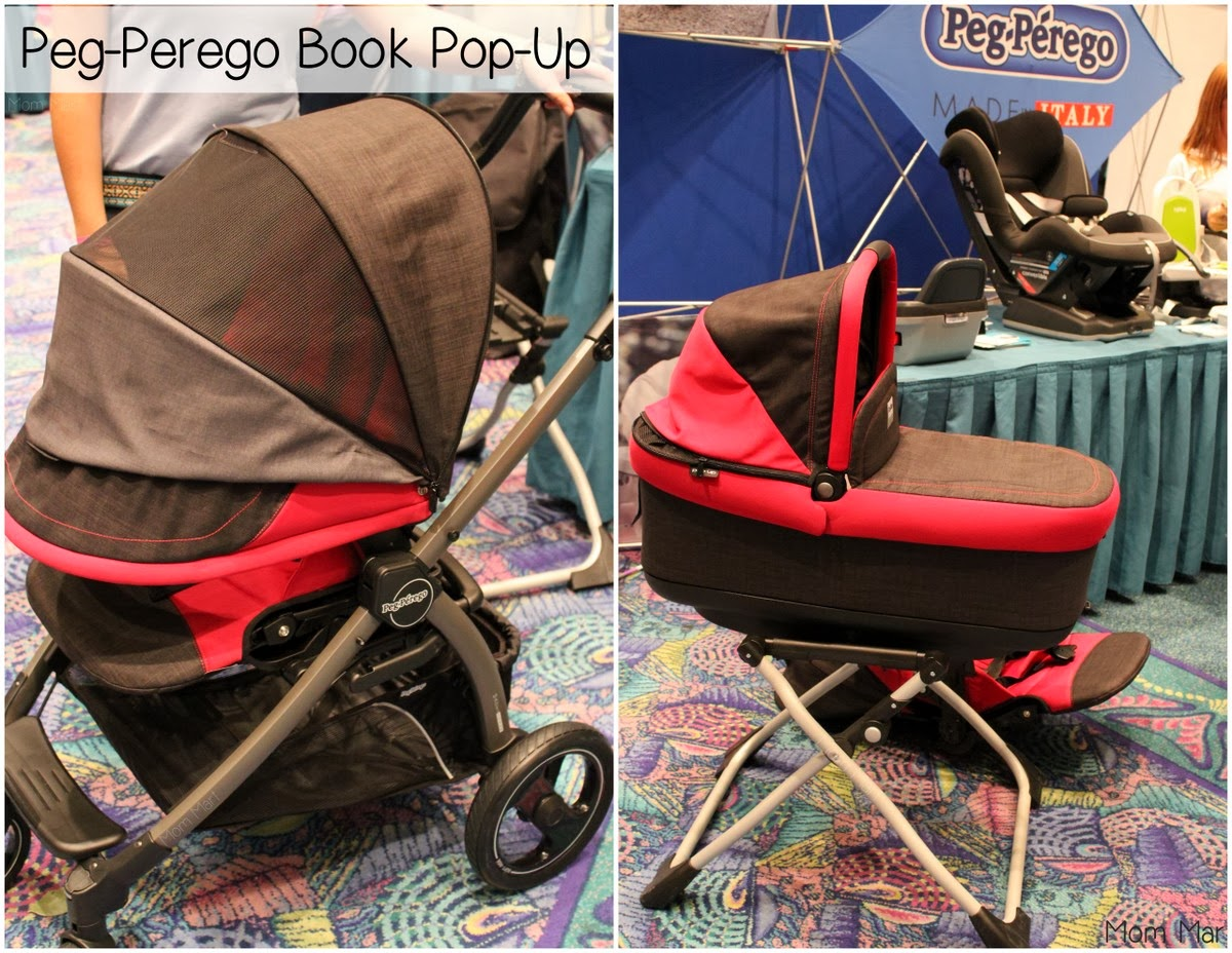 2014 Peg Perego Book Pop Up Stroller at #MommyCon #MommyConChicago